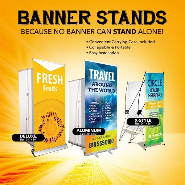 Winnipeg Roll Up Banner Stands Printing