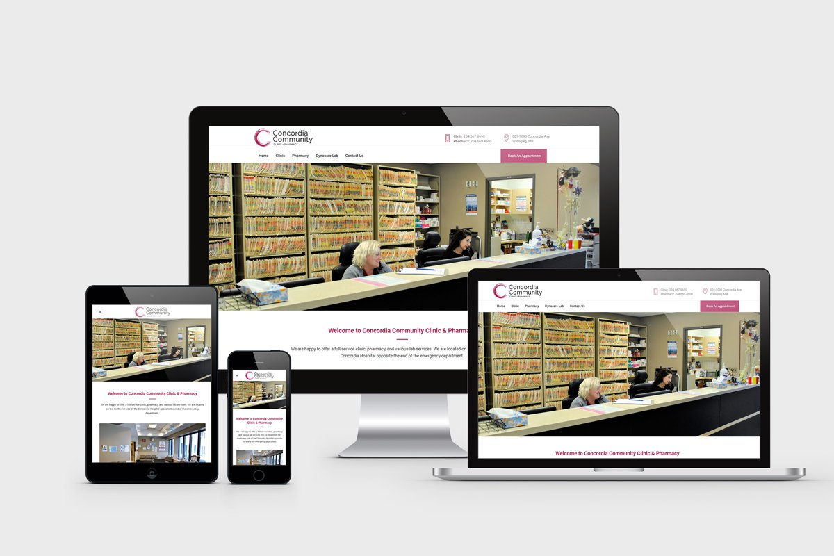 Medical Clinic and Pharmacy Web Design