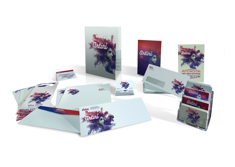 Print Products - Flyers, Envelopes, Business Cards, Postcards